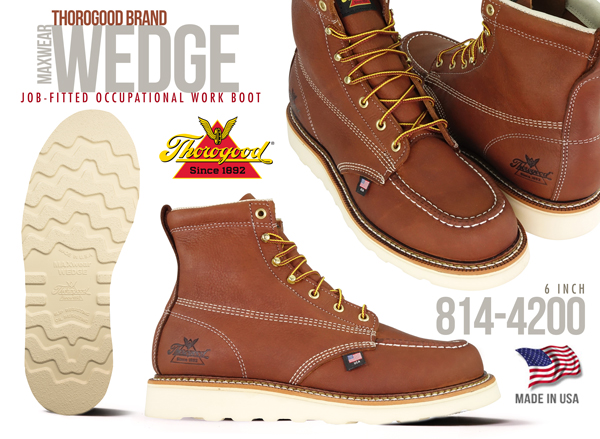 0a53826cc4e THOROGOOD WORK BOOTS | Safety and Non-Safety | AMERICAN MADE - UNION ...